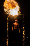 Fire Juggler Royalty Free Stock Photography