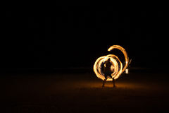 Fire Juggler Royalty Free Stock Images