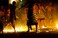 Fire Kecak Dance Royalty Free Stock Image