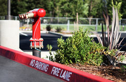 Fire Lane Royalty Free Stock Image