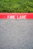 Fire Lane Royalty Free Stock Images