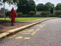 Fire Lane In Memphis, Tennessee royalty free stock image