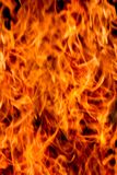 Fire light texture abstract background - Defocused blur style Stock Image