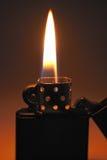 Fire of lighter Stock Image