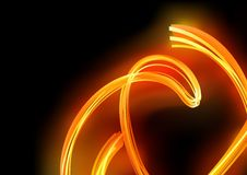 Fire Lines. Abstract Background Illustration, Vector Royalty Free Stock Photos
