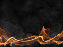 Fire lines on grunge background Royalty Free Stock Images