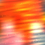 Fire lines with sparkles on blurred background. Bright shining fire lines with sparkles on blurred background. Vector illustration for your design Royalty Free Stock Photography