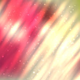 Fire lines with sparkles on blurred background. Bright shining fire lines with sparkles on blurred background. Vector illustration for your design Royalty Free Stock Photos