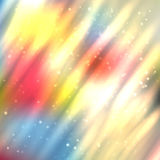 Fire lines with sparkles on blurred background. Bright shining fire lines with sparkles on blurred background. Vector illustration for your design Royalty Free Stock Image