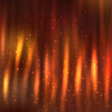 Fire lines with sparkles on blurred background. Bright shining fire lines with sparkles on blurred background. Vector illustration for your design Stock Images