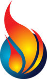 Fire logo Stock Images