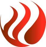 Fire logo Stock Photos