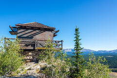 Fire Lookout Building Royalty Free Stock Photos