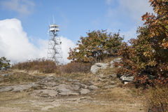 Fire lookout tower Royalty Free Stock Image