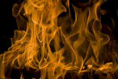 Fire, love flames Royalty Free Stock Photo
