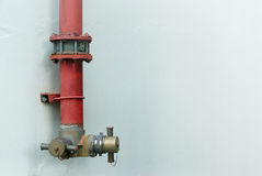 Fire manifold Stock Photography
