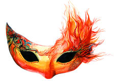 Fire mask Stock Photography