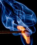 Fire, Match, Flame, Sulfur, Burn Royalty Free Stock Photo
