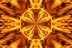 Fire mosaic stock photo