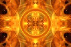 Fire mosaic royalty free stock photo