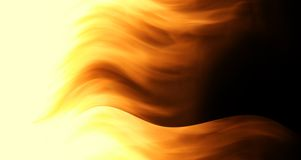 Fire in motion Stock Photo