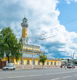 Fire-observation watchtower in Kostroma Stock Images