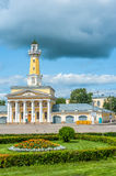 Fire-observation watchtower in Kostroma Stock Photos