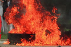 Fire Of Power. Royalty Free Stock Photos