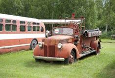 fire old truck Στοκ φωτογραφίες με δικαίωμα ελεύθερης χρήσης