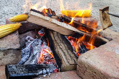 Fire outdoor Royalty Free Stock Image