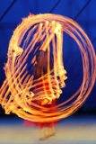 Fire performance royalty free stock image