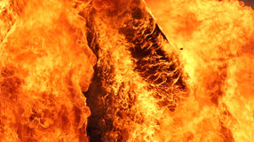 Fire. This is a photo of a raging fire Stock Photo