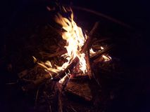 Fire. The picture shows a Fire royalty free stock image