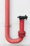 Fire pipe Stock Photo