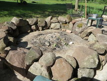 Fire pit Stock Image