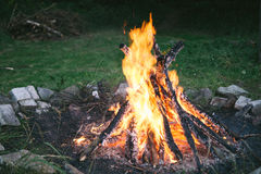 Fire pit Stock Photography