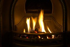 Fire place 2 Royalty Free Stock Photo