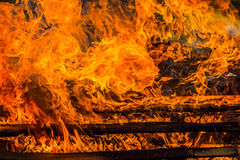 Fire place Stock Photography