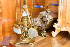Fire place equipment Stock Photography
