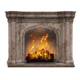 Fire place stock illustration