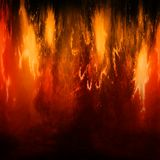 Fire , plasma. Digital design   of plasma , abstract grunge background Stock Photo
