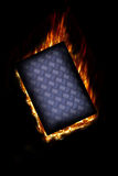 Fire plate Stock Photos