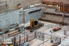 Construction site. In New York City Stock Image