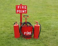 Fire Point. Royalty Free Stock Photography