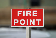 Fire Point Stock Photography