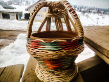 Fire pot kangri in Kashmir Stock Photography