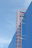 Fire-prevention Ladder Royalty Free Stock Images