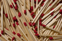 Fire Prone Background. Scattered Wooden Matches Background Royalty Free Stock Photo