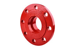 Fire Protection Pipe Fitting flange Royalty Free Stock Images