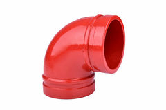 Fire Protection Pipe Fitting flange Royalty Free Stock Photography